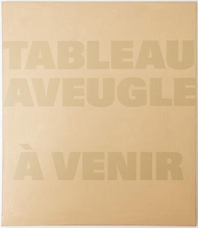 Remy Zaugg, 'Ein Blatt Papier II (SOP 247)', 1973-1989