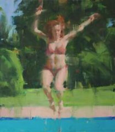 David Shevlino, 'Leaping Figure', 2016