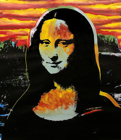 Steve Kaufman, 'Mona Lisa Sunset', 1995