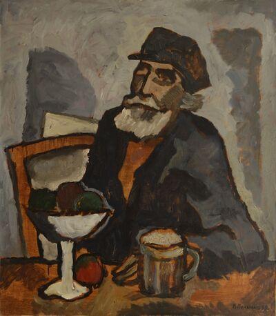 Vadim Semenovich Velichko, 'Old painter', 1999
