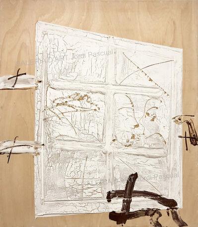 Antoni Tàpies, 'Porta blanca', 2008