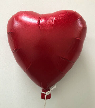 Plastic Jesus, 'Red Heart Balloon', 2019