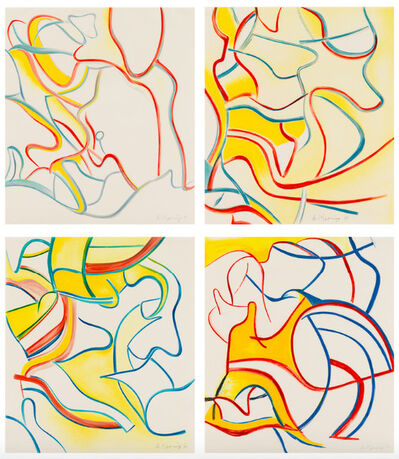 Willem de Kooning, 'Quatre Lithographies', 1986