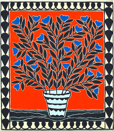 Anders SCRMN Meisner, 'Blue Orchids', 2019