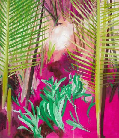 Yvette Kießling, 'Wasserpalmen', 2018