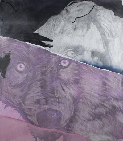 """Frédéric Malette, '""""Que les loups vivent le vent"""" #2', 2019"""