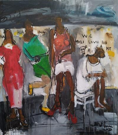 BUTCHECA ( Moises Ernesto Matsinhe Mafuiane ), 'Dawning', 2020