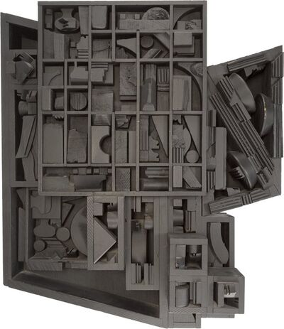 Louise Nevelson, 'Moon Zag III', 1979