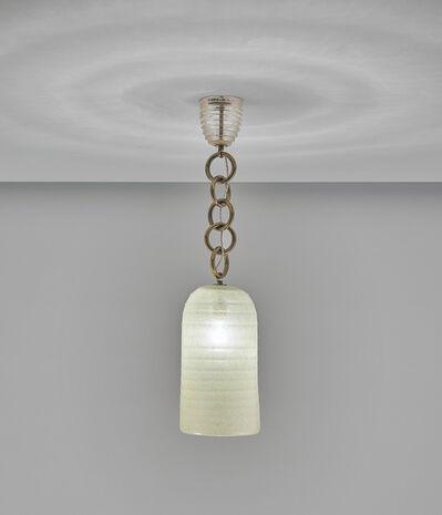 Seguso, 'Ceiling light', circa 1950