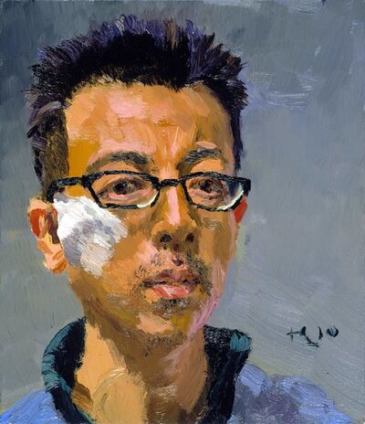 Liu Xiaodong, 'Self Portrait', 2010
