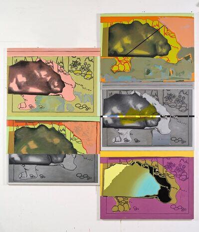 Luis Gordillo, 'Nubes de tierra', 2020