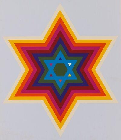 Yaacov Agam, 'Star of David', 1970
