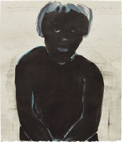 Marlene Dumas, 'The Last Years of Willem de Kooning', 1994