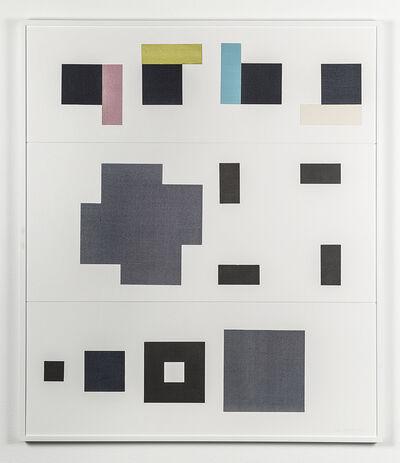Fausta Squatriti, 'Fisiologia del quadrato: risultato un quadrato', 1986