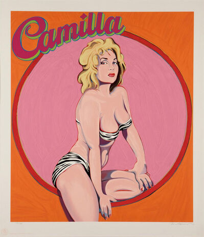 Mel Ramos, 'CAMILLA, QUEEN OF THE JUNGLE EMIPRE', 1990