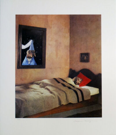 William Wegman, 'Cinderella Sleeping with Fairy Godmother', 1994