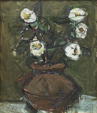 Kokuta Suda, '白玉椿 / Shiratama-Tsubaki / White Camellia', 1988