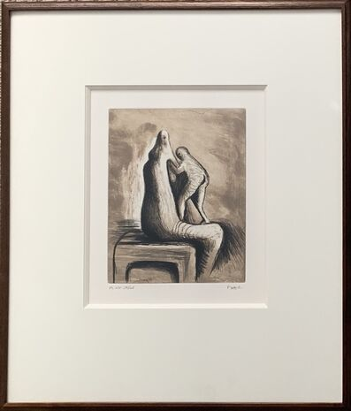 Henry Moore, 'Plate XIV, Mother & Child (C. 684)', 1983