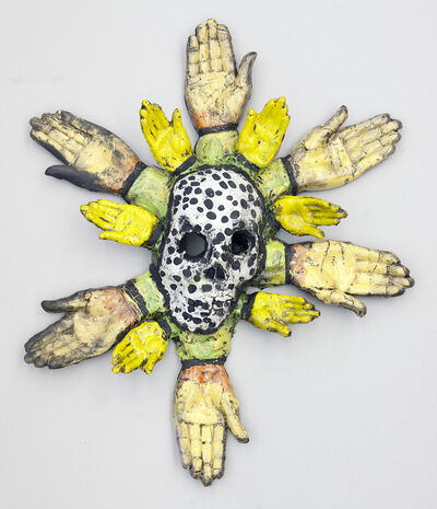 Michael Sarich, 'Sunflower Skull', 2015