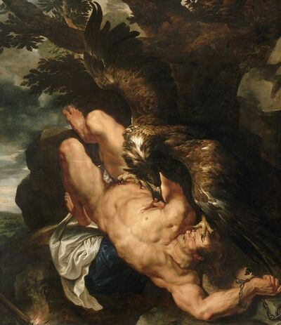 Peter Paul Rubens, 'Prometheus Bound', 1618
