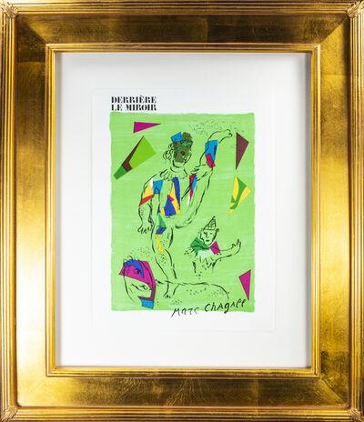 Marc Chagall, 'L'Acrobate Vert - Coverture (The Green Acrobat, front cover of Derrière le Miroir #235), M 946', 1979
