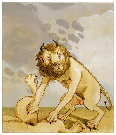 Sean Landers, 'Lions', 2005