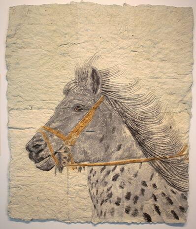 Kevin Sudeith, 'Dapple Horse Head', 2018
