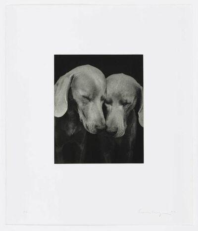William Wegman, 'Reflectional', 2002