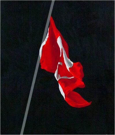 Charles Pachter, 'Painted Flag', 1988