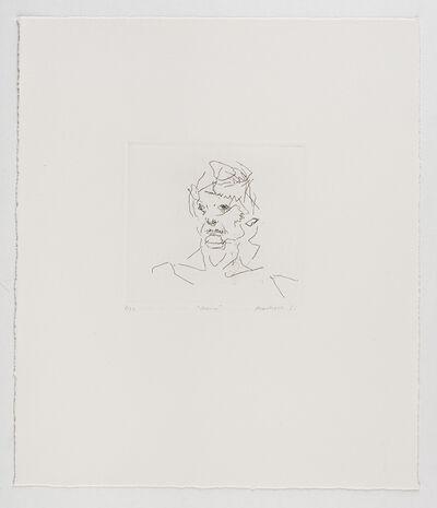 Frank Auerbach, 'Julia', 1981