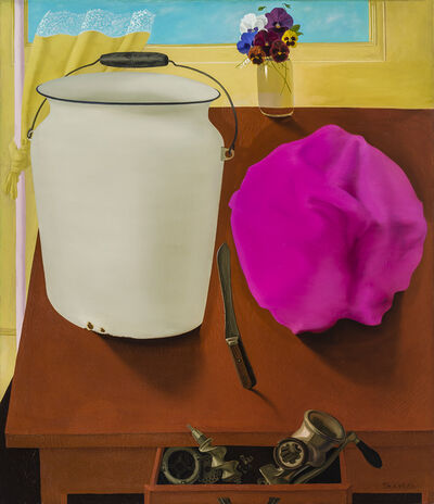 Honoré Sharrer, 'Still Life with White Pail', ca. 1978