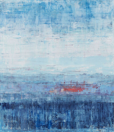 Suzy Barnard, 'Balancing Blue', 2019