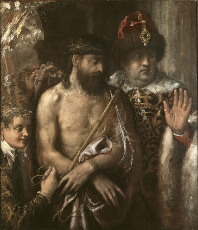 Titian, 'Christ Shown to the People (Ecce Homo)', 1570-1576