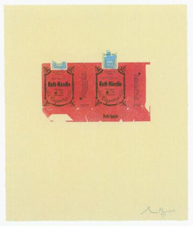 Robert Motherwell, 'Roth-Handle II (crimson)', 1975