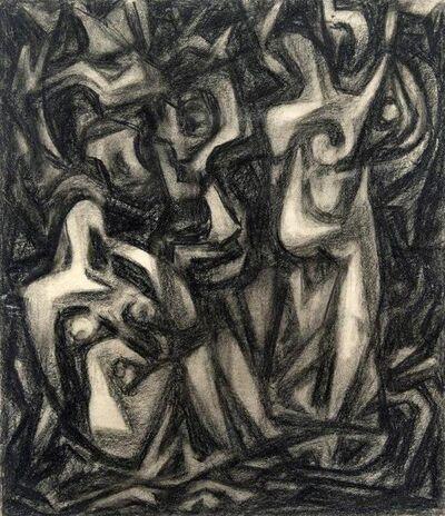 Emil Bisttram, 'Figures', 1940s
