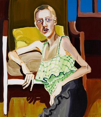 Jenni Hiltunen, 'Woman With Blue Eyes', 2019