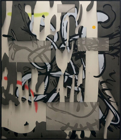 Jan-Ole Schiemann, 'Komposition (Nacht)', 2015