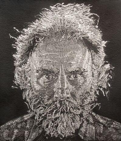 Chuck Close, 'Lucas, Paper/Pulp', 2006