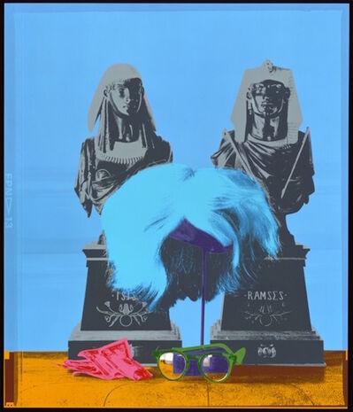 "David Gamble, 'Andy Warhol's Wig and Glasses ""Silkscreen"" Marilyn Color Series', 1987"