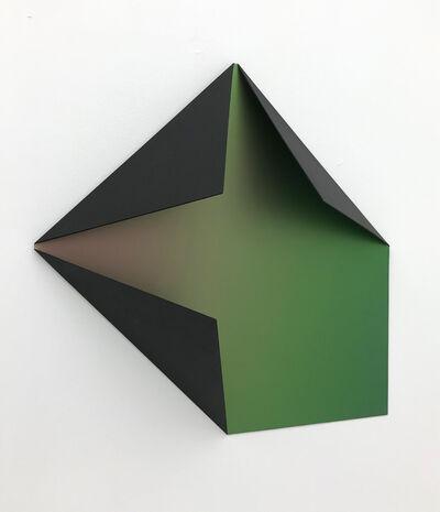 Sébastien de Ganay, 'Black Flip Flop Folded Flat 02', 2020