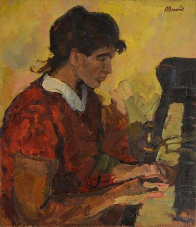 Vadim Semenovich Velichko, 'Playing piano', 1961