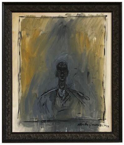 John Myatt, 'Portrait of Diego (after Giacometti)', 2008