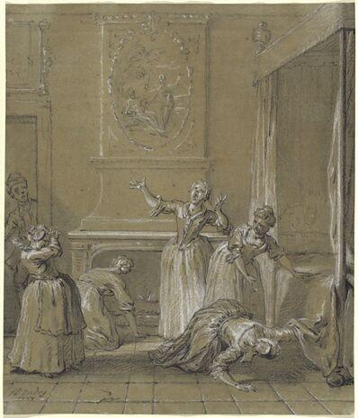 Jean-Baptiste Oudry, 'On trouve le corps mort de l'hote que l'on avait cache', 1727