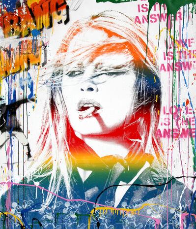 Mr. Brainwash, 'Brigitte Bardot', 2018