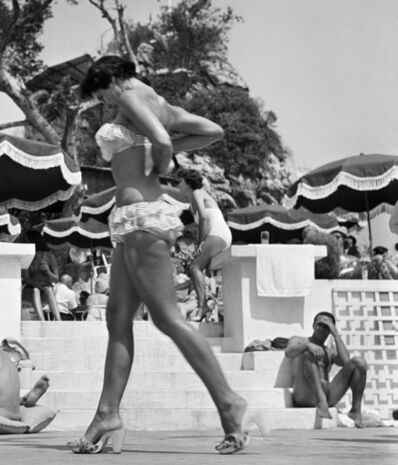 Jacques Henri Lartigue, 'Monte Carlo Beach', 1955