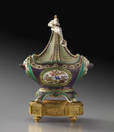 """Sèvres Porcelain Manufactory, 'Potpourri Vase """"à Vaisseau"""" ', ca. 1759"""