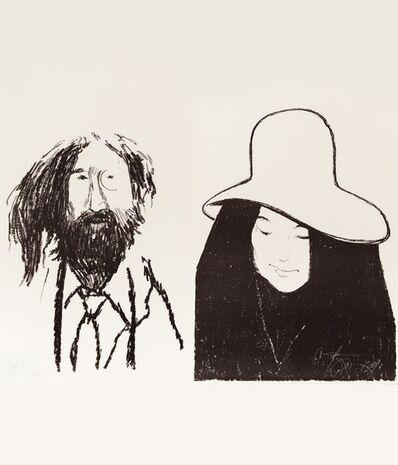 Harold Town, 'John & Yoko', 1969