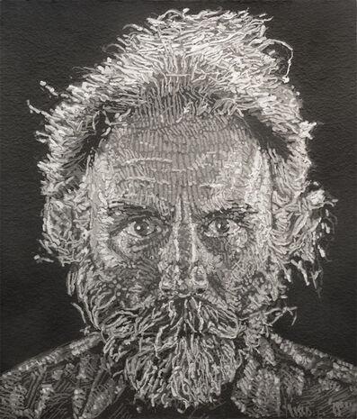 Chuck Close, 'Lucas Paper/Pulp', 2006