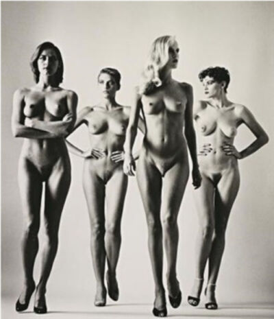 Helmut Newton, 'Nude Sie Kommen', N/A