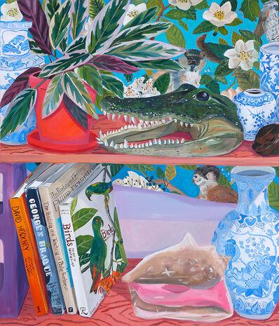 Anna Valdez, 'Taxidermy Alligator Head on Studio Shelf', 2019